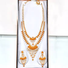 gold har set send traditional sita har set gold plated jewellery jewellery for