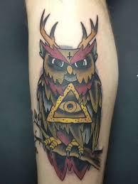 austintimberlake6 owl antlers owl tattoo owls allseeingeye all