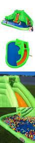 water slides 145992 inflatable water slide park backyard bounce