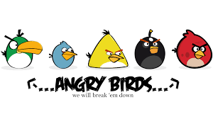 angry birds cartoons wallpapers