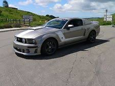 Silver Mustang With Black Stripes Ford Mustang Ebay