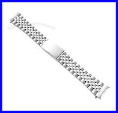 stainless steel bracelet ebay images 18mm 19mm 20mm stainless steel curved end jubilee watch band jpg