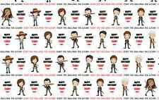 walking dead wrapping paper craft by you on ebay store glance