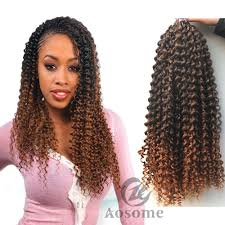 Curly Braiding Hair Extensions by 6pack Freetress Synthetic Water Wave Bulk Braid Crochet Latch Hook