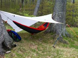 Cocoon Hammock Camping Nice Hammock Rig With Extra Large Asymmetrical Tarp Hammock