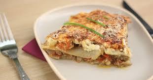 recette cuisine az recette moussaka facile rapide