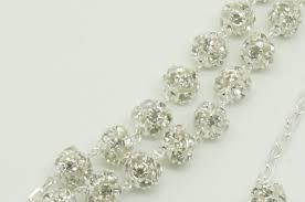 wedding lasso wedding lasso rhinestone silver lazo rosario imitacion