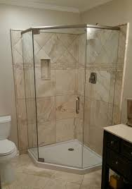neo angle showers frameless shower doors