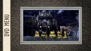 disney halloween haunts dvd the haunted mansion 2003 dvd menu youtube