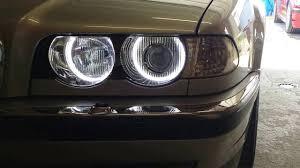 e38 euro tail lights bmw e38 angel eyes led avec centralisation 2 youtube