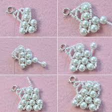 pearls necklace making images Pearl jewelry design how to make a handmade white pearl bead jpg