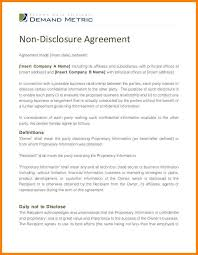 financial confidentiality agreements a reasonable duration how to