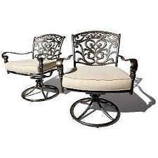 Solid Cast Aluminum Patio Furniture by Patio Furniture Sets And Covers Ebay