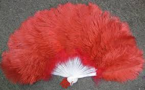 feather fan ostrich feather fan small eeagal trimming