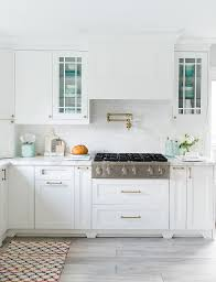 decorators white painted kitchen cabinets before after kitchen renovation home bunch interior