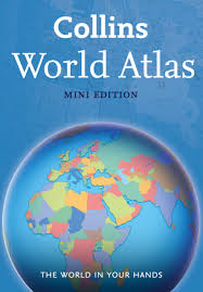 World Atlas Maps by Collins World Atlas Mini Edition Amazon Co Uk Collins Maps