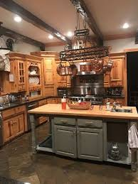 Update My Kitchen Cabinets Any Ideas On How To Update My Knotty Pine Cabinets Or Pot Rack