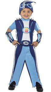 lazy town sportacus fancy dress costume for kids cq038359