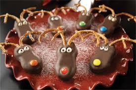 reindeer cookies u0026 snow