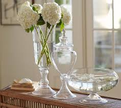 Large Clear Glass Floor Vases Bubble Glass Hurricane Vase 3r Studios Large Size Of Dining