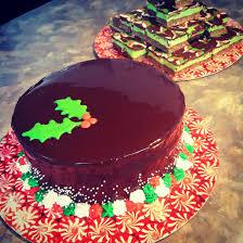 mirror glaze cake chocolate mirror glazed christmas cake and mint chocolate nanaimo