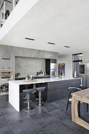 white kitchen island with grey base kitchen cabinet and white