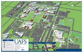 Iowa State Campus Map Uafs Campus Map Image Gallery Hcpr
