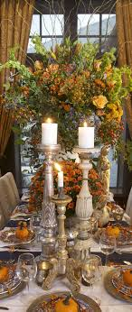 rustic thanksgiving tablescape ideas fall centerpieces