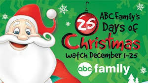 abc family channel 25 days of schedule december 1 2014