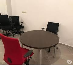 table ronde de bureau table ronde professionnel haworth bureau oujda