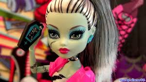 Monster High Doll Halloween Costumes by Monster High Doll Frankie Stein Hottest Dolls For Girls Youtube