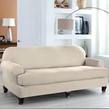 Sure Fit T Cushion Sofa Cover Cool Sure Fit T Cushion Sofa Slipcover Suzannawinter Com