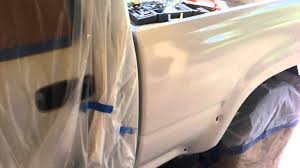 1994 toyota truck paint dupli color paintshop lacquer youtube