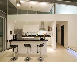 white island kitchen admirable modern kitchen bar idea with freestanding contemporary