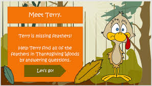 thanksgiving turkey themed test articulate storyline