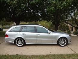 2006 mercedes e55 amg for sale 2006 mercedes e55 amg wagon for sale on bat auctions sold