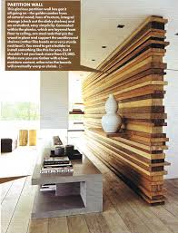 unique wood wall room divider creative idea wood partition unique