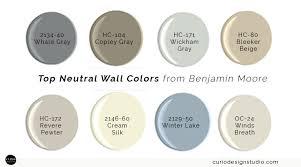 my top neutral wall colors curio design studio
