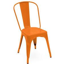 chaise potiron chaise a laque potiron de tolix
