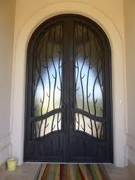 rustic decor iron doors