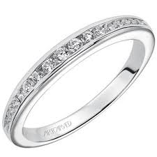 classic rings bands images Artcarved quot kimberly quot diamond channel set wedding band jpg
