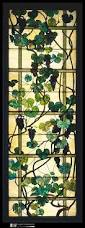 Louis Comfort Tiffany Stained Glass Grapevine Panel Designed By Louis Comfort Tiffany Tiffany Glass