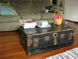 coffee table interesting coffee tables trunks steamer trunk