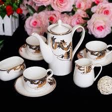 Dragon Coffee Cup Creative Coffee Tea Coffee Cup European Style Bone China Coffee