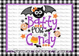 halloween svg batty for candy svg bat design bundles