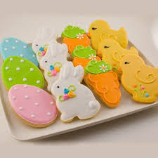 To Ship Monday 3 25 Easter Cookies Decorated Bunny and Chick