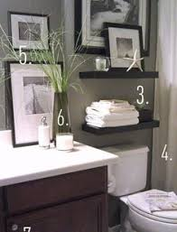 guest bathroom makeover reveal sherwin williams gray mirror