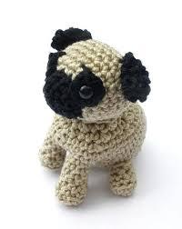 crochet pug stuffed