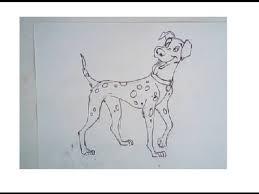 draw 101 dalmation step step drawing