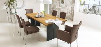 Brown Leather Dining Room Chairs Dining Room Contemporary Designcreative Contemporary Dining Room